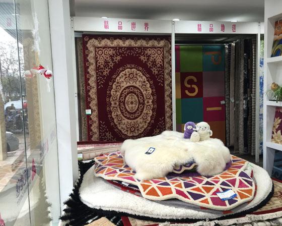圣雁地毯产品展示