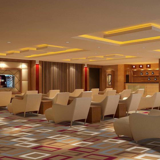 休闲大厅地毯