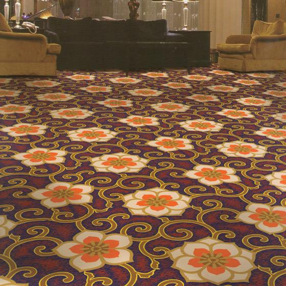 尼龙彩印地毯