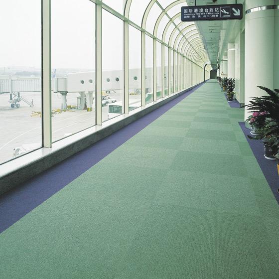 飞机场地毯